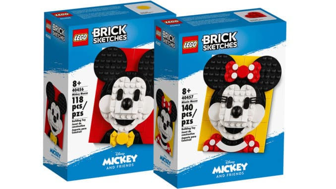 Zwei neue Brick Sketches Sets